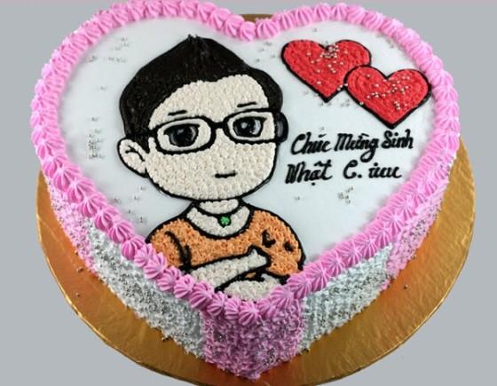 Bánh sinh nhật in ảnh cho trẻ em