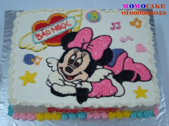 Bánh sinh nhật hình con chuột