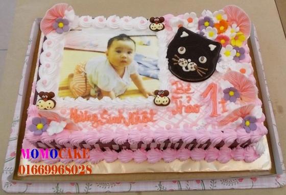 Bánh sinh nhật in ảnh tại hà nội