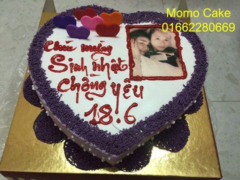 Bánh sinh nhật tặng chồng yêu
