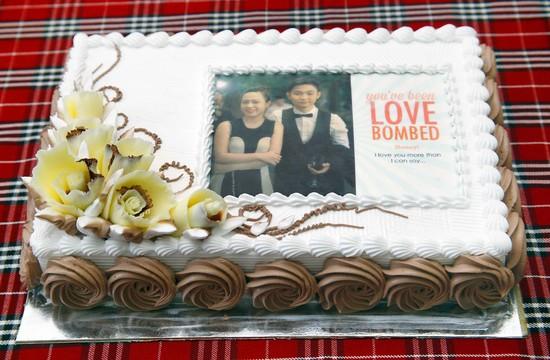 Bánh sinh nhật in ảnh tặng người yêu