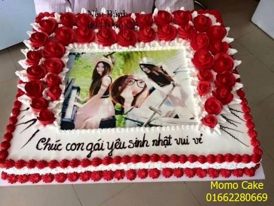 Bánh sinh nhật in ảnh ở Cổ Nhuế